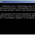 Apache AXIS 2 – SOAP Web Service 實作教學 (即時天氣預報)