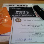 2013 年「第一屆台灣敏捷國際研討會」重新認識 Scrum
