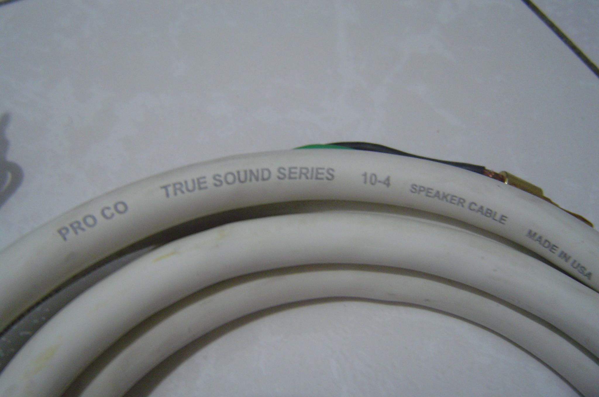 PRO CO TRUE SOUND SERISE 10-4