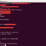 筆記 – 用 Telnet 連接 SMTP 測試發信