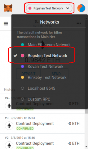 metamask-chang-to-test-network