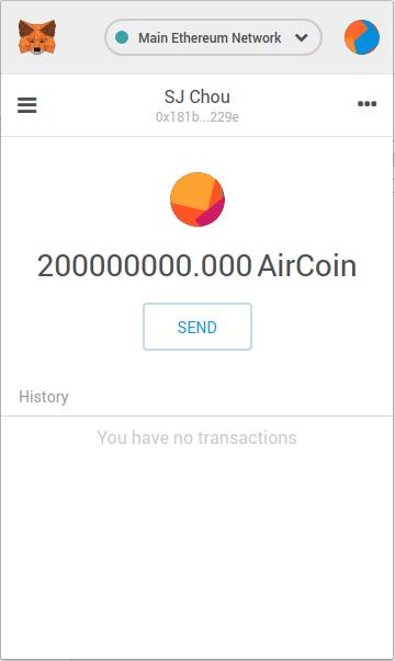 air coin release