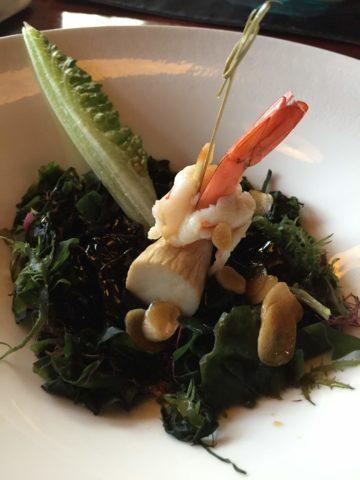 蝦蝦與沙拉