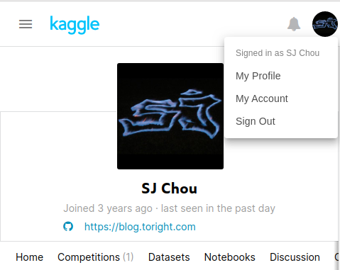 kaggle-account